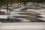 The National 9/11 Pentagon Memorial. Photo by Flickr user afagen.